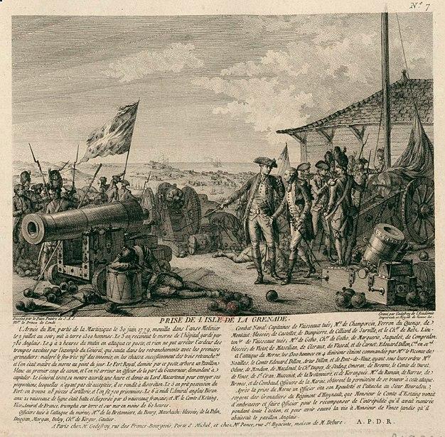 Prise La Grenade juillet 1779