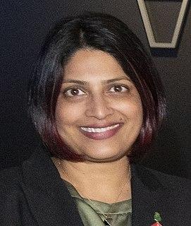 Priyanca Radhakrishnan politician