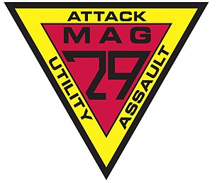 Marine Aircraft Group 29 - Image: Proposed MAG 29 Patch final