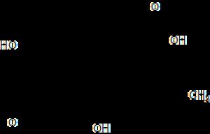 Prostaglandin D2 - Image: Prostaglandin D2 structure