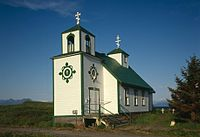 Protection of the Holy Theotokos Chapel, Akhiok, Alaska.jpg