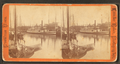 Providence Harbor. View of steamboats and sailing vessels, by Leander Baker 2.png