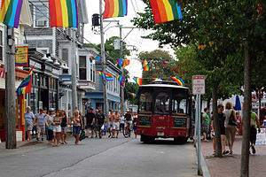 Commercial Street, Provincetown, MA