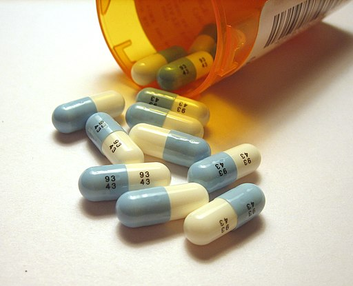 Prozac pills cropped