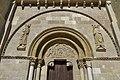 Puerta del Perdón (Basílica de San Isidoro de León). Tímpano.jpg