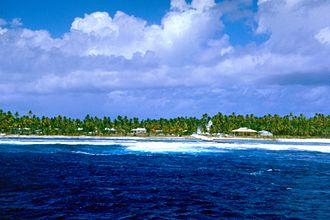 Pukarua - View of Marautagaroa