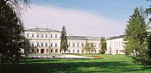 Chrystian Piotr Aigner - Czartoryski palace, Puławy