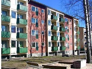 Hilding Ekelund - Punahilkantie 12. Roihuvuori housing area, Helsinki