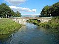 Puybarban, Gironde, pont de Gravilla sur le canal latéral à la Garonne.JPG