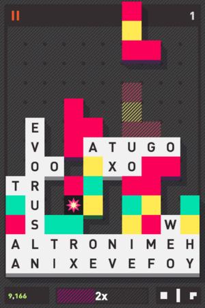 Puzzlejuice - Screenshot of gameplay