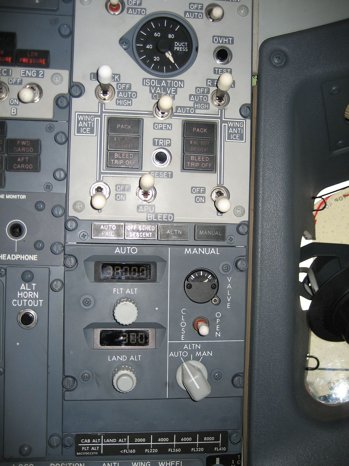 Environmental Control System Wikipedia Air Craft Warning Light Circuit