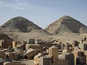 Abusir - Abusir, pyramids
