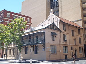 Queen Adelaide Club - The Queen Adelaide Club, cnr North Terrace and Stephens Place, Adelaide