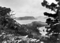 Queensland State Archives 922 Eastern Entrance to Kennedy Sound Whitsunday Passage from Oldfields Hill 712 ft on Lindeman Island North Queensland June 1931.png