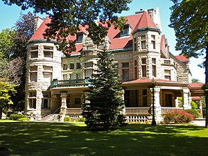 Quincy, Illinois - The Newcomb Mansion