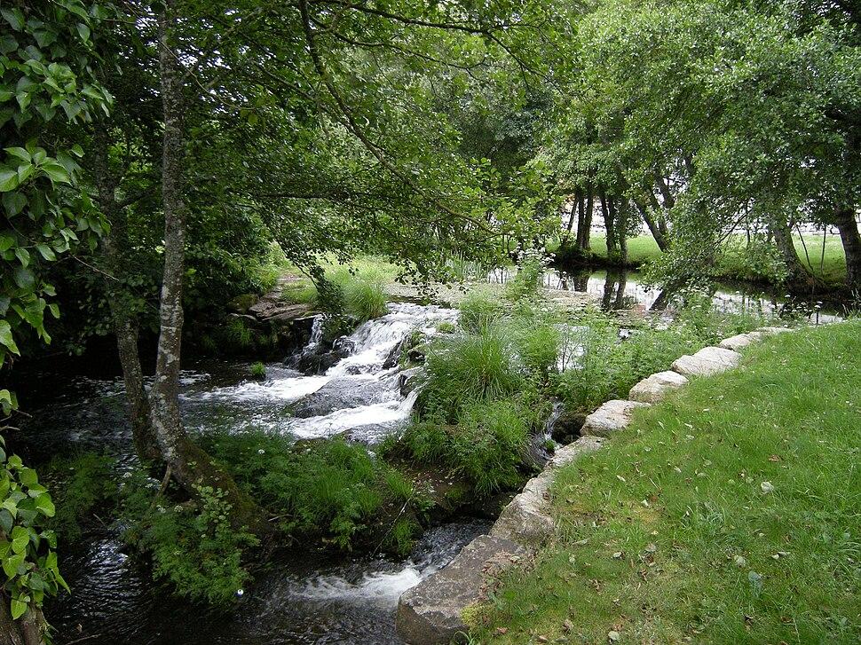 Río Narla en Friol