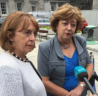 Social Democrats (Ireland) - Social Democrats party leaders, Róisín Shortall (left) and Catherine Murphy (right).