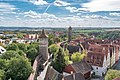 Röderschütt, Stadtmauer, vom Röderturm Rothenburg ob der Tauber 20180922 001.jpg
