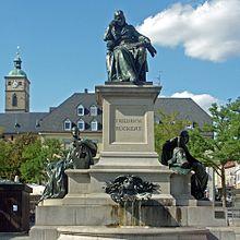 Rückert-Denkmal in Schweinfurt (Quelle: Wikimedia)