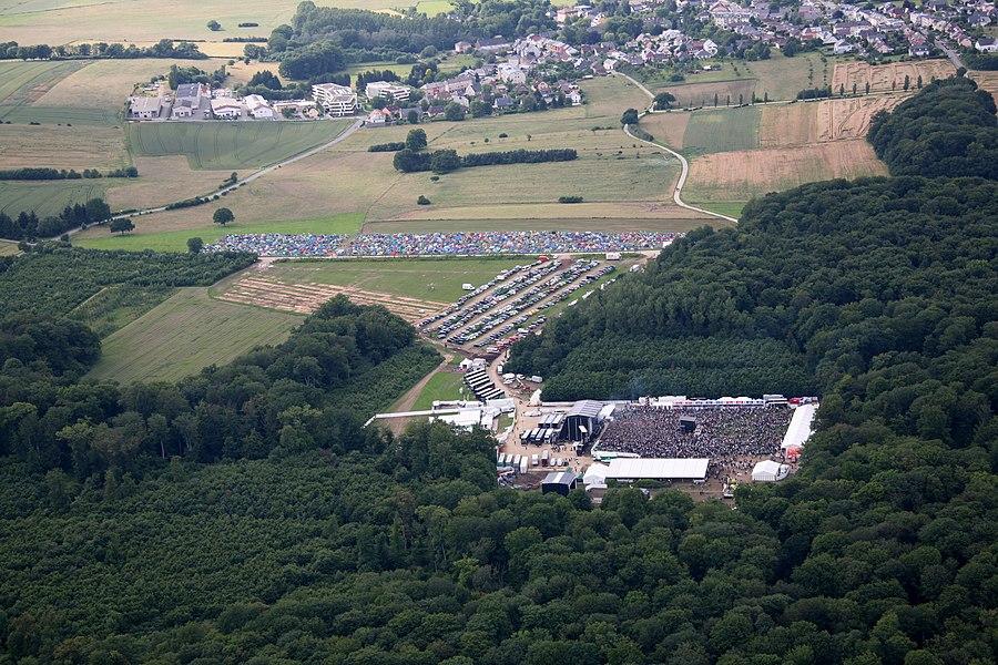 Rock A Field 2012 zu Réiser.