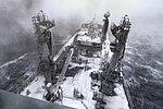 RFA Tidespring during bad weather off the UK coast MOD 45163864.jpg