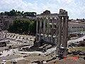 ROMA 2006 Foro Romano - Tempio di Saturno - panoramio.jpg