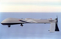 RQ-1 Predator in flight near USS Carl Vinson (CVN-70) 951205-N-3149J-006.jpg