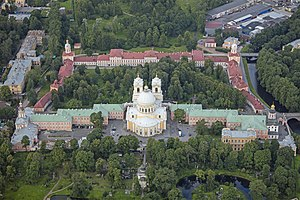 Tsentralny District, Saint Petersburg - Saint Alexander Nevsky Monastery, Tsentralny District