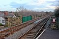Raby Road bridge, Neston railway station (geograph 3800458).jpg
