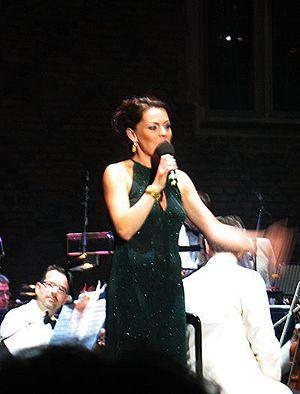 Rachel Tucker - Tucker performing at Hampton Court Palace in 2009