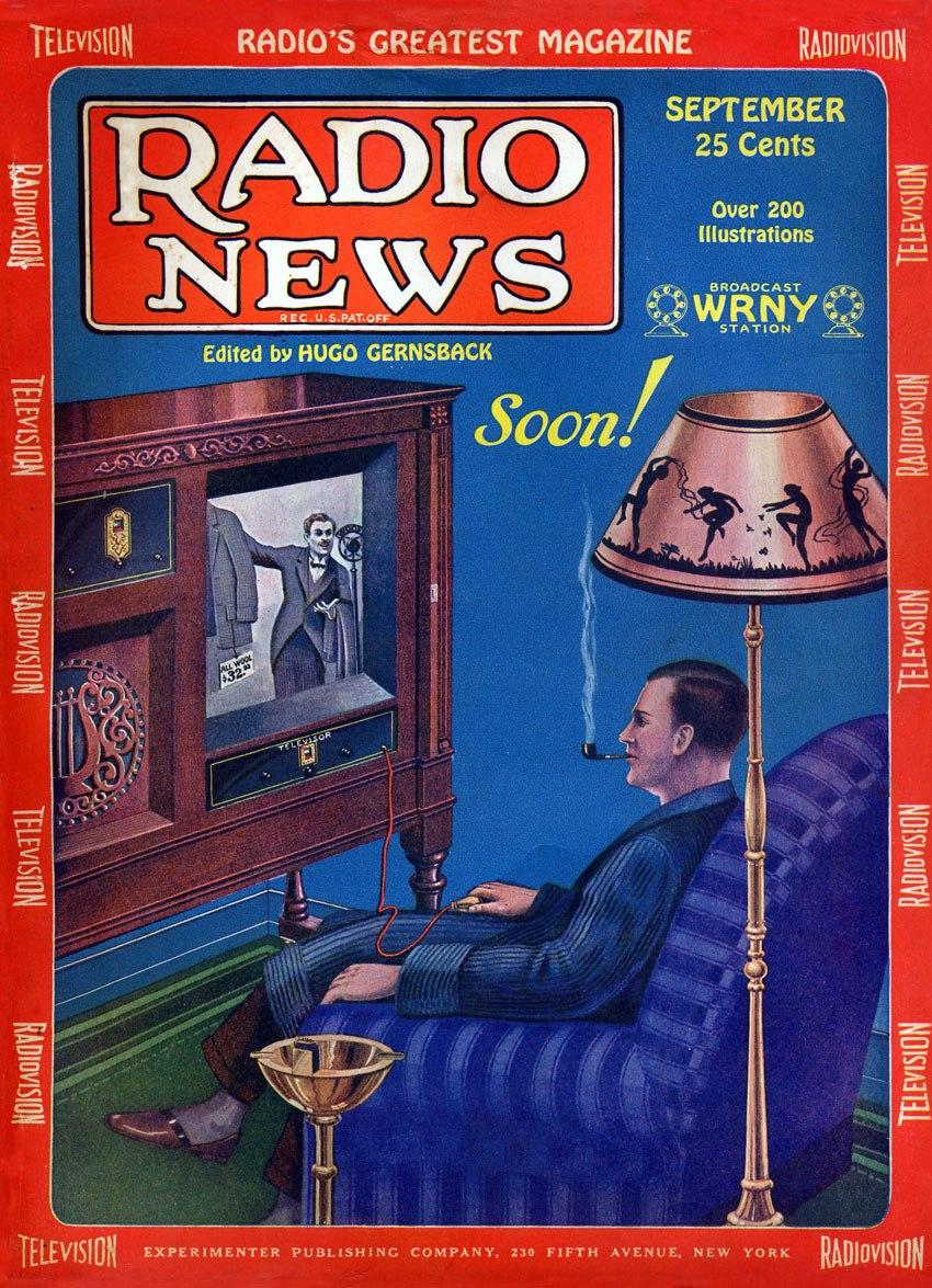 Radio News Sep 1928 Cover