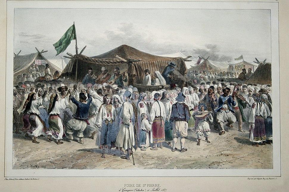 Raffet - Foire de St. Pierre a Giourgevo