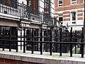 Railings near St Michael's, Cornhill - geograph.org.uk - 1772145.jpg