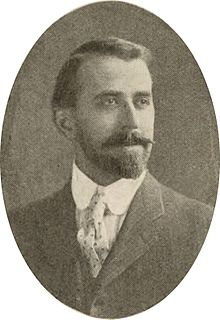 Portrait of Chamberlin with a short beard and mustache