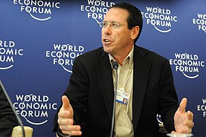 English: Randall L. Stephenson at the 2008 Wor...