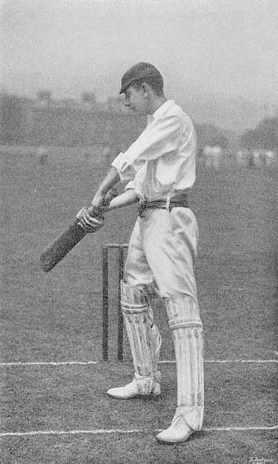 Ranji 1897 page 311 H. D. G. Leveson-Gower's push-stroke in the slips.jpg