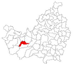 Location of Râșca