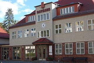 Glienicke/Nordbahn Place in Brandenburg, Germany