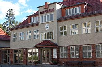Glienicke/Nordbahn - Town Hall