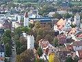 Ravensburg, Blick vom Mehlsack zum Hirschgraben.JPG