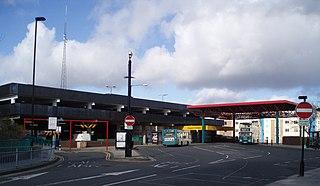 Regent Centre Interchange Station of the Tyne and Wear Metro
