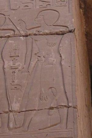 Iuput - Iuput on the Bubastite Portal at Karnak