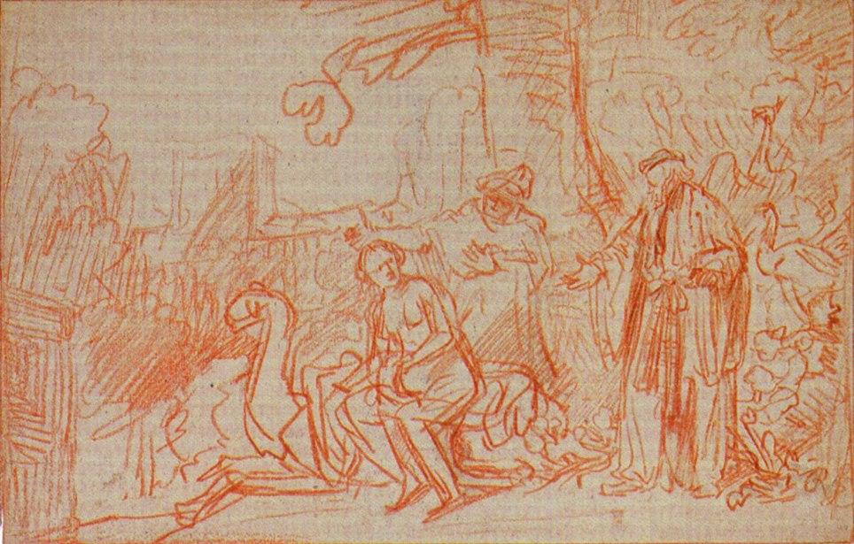 Rembrandt Susanna Zeichnung