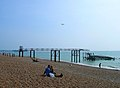Remnants of the Walkway to the West Pier - geograph.org.uk - 242087.jpg