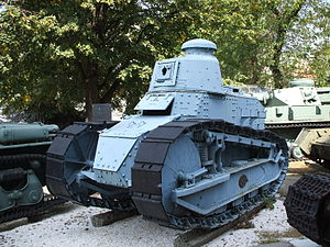 Renault FT17 National Military Museum Bucharest.JPG