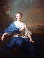 Retrato de Mlle. Henault, Comtesse d'Aubeterre