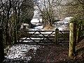 Rhymney Valley Ridgeway Footpath at Blaen-nofydd. - geograph.org.uk - 1728726.jpg