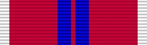 Ernest Smith - Image: Ribbon QE II Coronation Medal