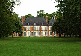 The chateau in Ribeaucourt