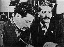Los hermanosRicardo(izquierda) yEnrique Flores Magón(derecha), periodistas y anarquistas mexicanos